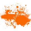 Stock Photo: Orange spot