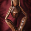 Wooden figurine — Stock Photo