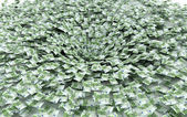 Economic crisis, scam global banks, crash, collapse — Stock Photo