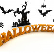 Halloween night - fear - tradition - recurrence — Stock Photo