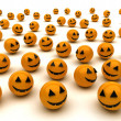 Halloween - scary - tradition - recurrence — Foto de Stock