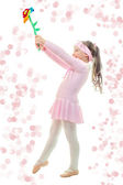 Little Ballerina Dance — Stock Photo