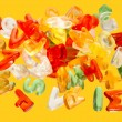 Letters jelly sweets — Stock Photo #39853203