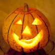 Halloween lantern — Stock Photo #19868029