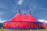 Big top circus tent — Stock Photo