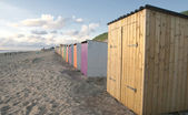 Beach cabins — Stock Photo