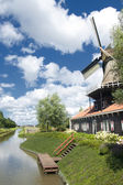 Traditional windmill house — Stock Photo