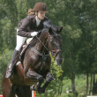 Stock Photo: Equestrievent