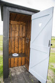 Outdoor toilet — Stock Photo