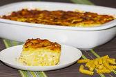 Pasta oven / Pasta bake — Stockfoto