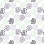 Seamless circle background — Stock Vector