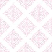Seamless baroque damask background — Vector de stock