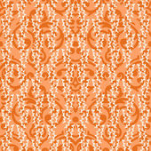 Seamless baroque damask background — Vecteur