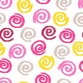 Watercolor swirls background — Cтоковый вектор