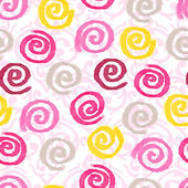 Watercolor swirls background — Stockvector