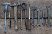Old tools — Foto de Stock