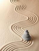 Jardín de la meditación zen — Foto de Stock