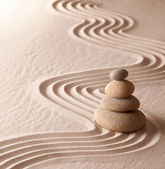 Zen meditation garden — Photo
