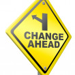 Change ahead — Stock Photo #12191803