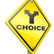 Stock Photo: Choice decision choose indecisive