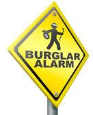 Burglar alarm prevention — Stock Photo