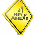 Helping hand solidarity — Stock Photo #12201003