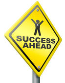 Success ahead victory and glory — Stock Photo