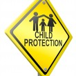 Постер, плакат: Child protection