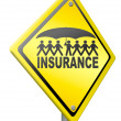 Life or health insurance — Stock Photo