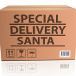 Постер, плакат: Special delivery Santa