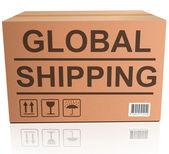 Transporte marítimo mundial — Foto de Stock