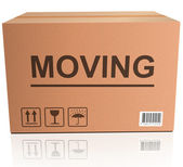 Moving box — Stock Photo