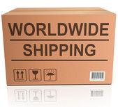 Wysyłka na całym świecie — Zdjęcie stockowe