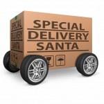 ������, ������: Special delivery Santa