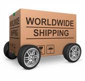 Worldwide shipping — Stock Photo