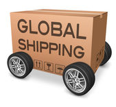 Global shipping — Stock Photo