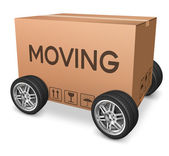 Moving box — Stock Photo