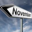 Постер, плакат: November
