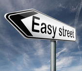 Easy street — Stock Photo