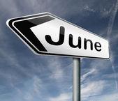 Strzałka w czerwcu — Zdjęcie stockowe
