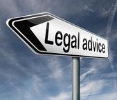 Juridisch advies — Stockfoto
