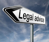 Legal advice — Foto Stock