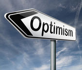 Optimism and positive thinking — Stock Photo