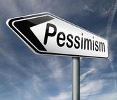 Pessimism — Stock Photo