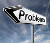 Problems — Stock Photo