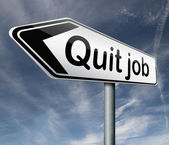 Quit job — Stock Photo