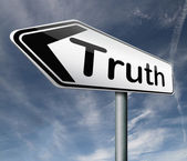 Truth honesty — Stock Photo