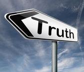 Truth honesty — Stock Photo