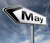 Month May — Stock Photo