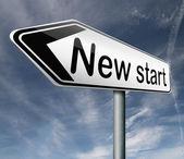 Start again — Stock Photo
